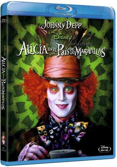 Alicia En El Pais De Las Maravillas (2010) (Blu-Ray) (Alice In Wonderland)