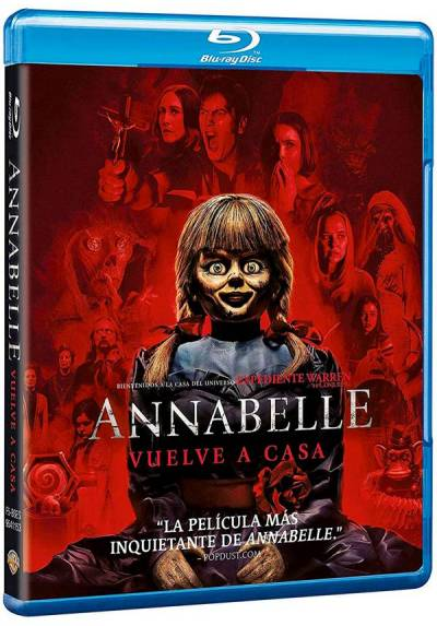 Annabelle vuelve a casa (Blu-ray) (Annabelle Comes Home)