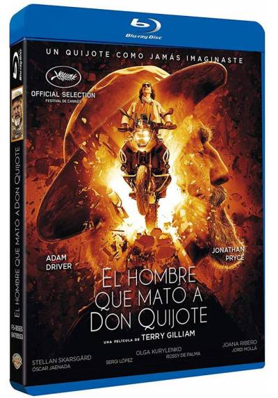 El hombre que mato a Don Quijote (Blu-ray) (The Man Who Killed Don Quixote)