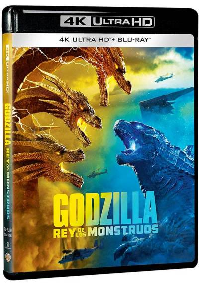 Godzilla: Rey de los monstruos (4K Ultra HD + Blu-ray) (Godzilla: King of the Monsters)