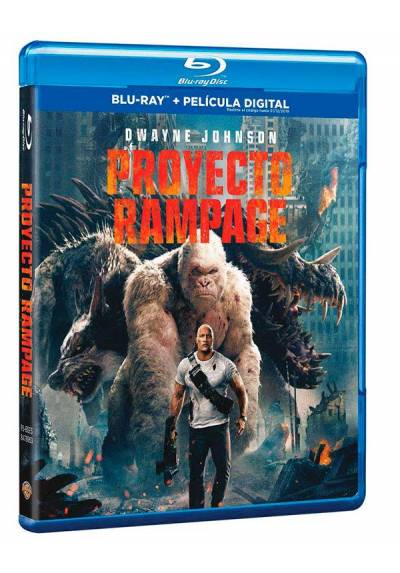 Proyecto Rampage (Blu-ray + Copia Digital) (Rampage)