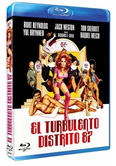 El turbulento Distrito 87 (Blu-ray) (Bd-R) (Fuzz)