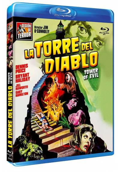 La torre del diablo (Blu-ray) (Bd-R) (Tower of Evil)