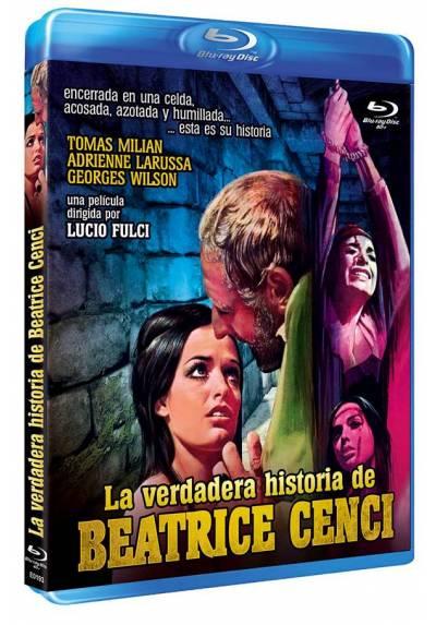 La verdadera historia de Beatrice Cenci (Blu-ray) (Bd-R) (Beatrice Cenci)