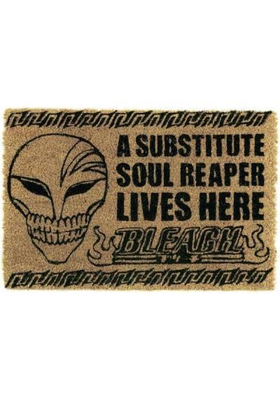 Felpudo Bleach - A sustitute soul reaper lives here (Un segador de almas vive aqui) (40 X 60 X 2)