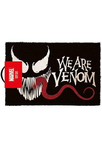 Felpudo Venom - We are Venom (Nosotras somos veneno) (40 X 60 X 2)