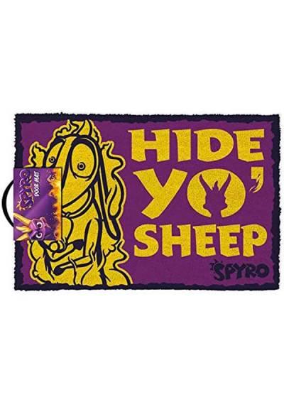 Felpudo Spyro - Hide Yo Sheep (40 X 60 X 2)
