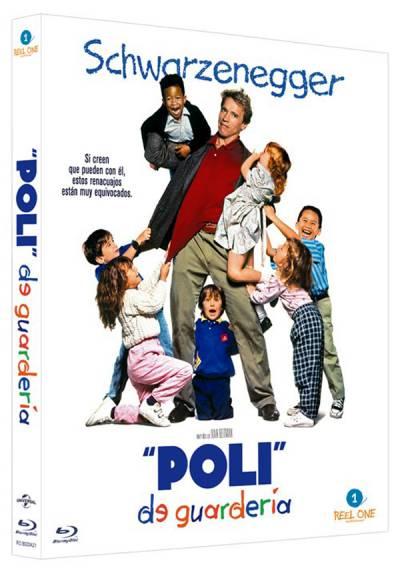 Poli de guarderia (Blu-ray) (Kindergarten Cop)