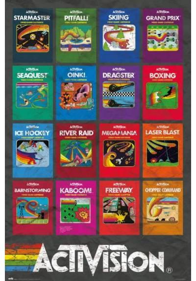 Poster Cubiertas de Juegos de Activision (POSTER 61 x 91,5)