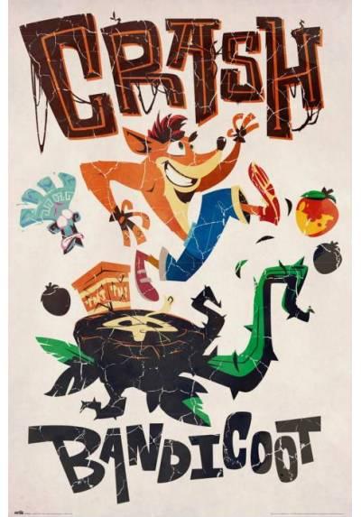 Poster Crash Bandicoot - Aventuras (POSTER 61 x 91,5)