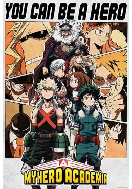 Poster My Hero Academia - You Can Be a Hero (Puedes ser un heroe) (POSTER 61 x 91,5)