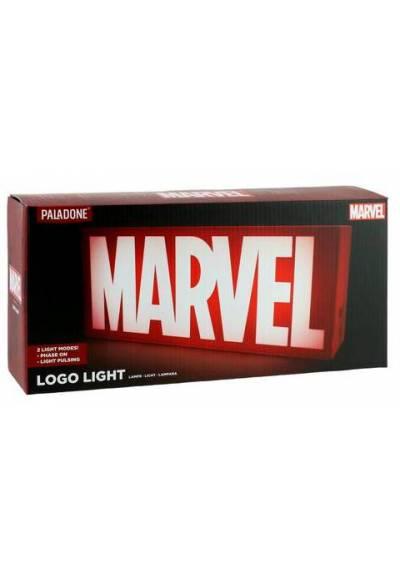 Lampara Marvel Logo