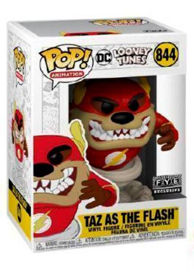 Figura Pop Taz As The Flash - Looney Tunes