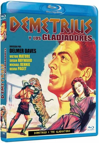 Demetrius y los Gladiadores (Blu-Ray) (Demetrius And The Gladiators