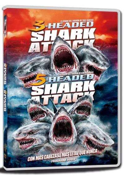 Pack 2-Headed Shark Attack - 5-Headed Shark Attack