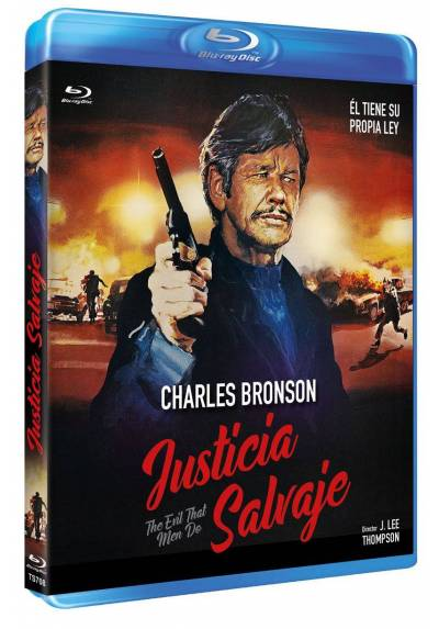 Justicia salvaje (Blu-ray) (The Evil That Men Do)