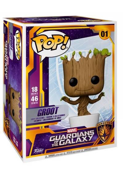 Figura Funko Pop! Groot Bailarin - Marvel Guardianes de la Galaxia