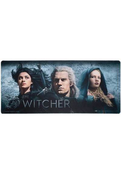 Alfombrilla Raton XXL - The Witcher (80cm x 35 cm x 4 mm)