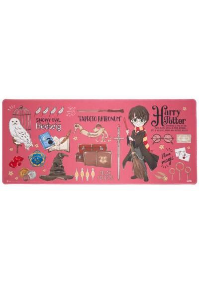 Alfombrilla Raton XXL - Harry Potter (80cm x 35 cm x 4 mm)
