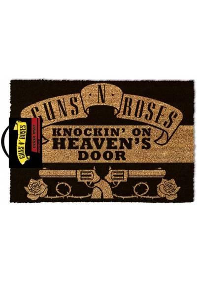 Felpudo Guns N 'Roses - Golpeando en las puertas del cielo  (40 X 60 X 2)