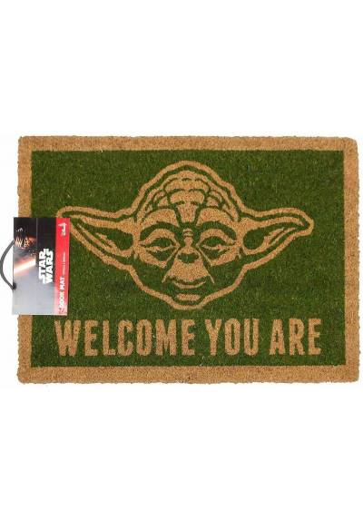 Felpudo Star Wars Yoda - Bienvenido (40 X 60 X 2)