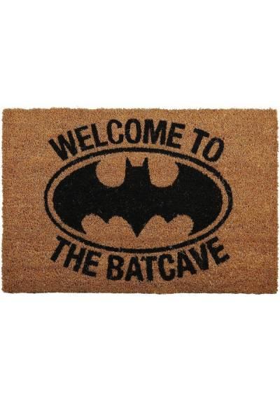 Felpudo Batman - Welcome To The Batcave 2 (Bienvenido a la Batcueva) (40 X 60 X 2)