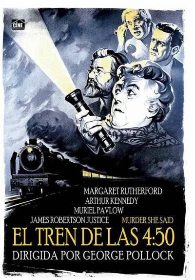 copy of El Tren De Las 4:50 (Murder She Said)