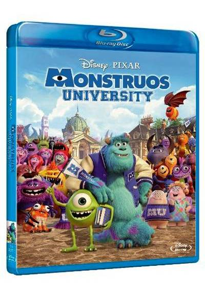Monstruos University (Blu-ray) (Monsters University)