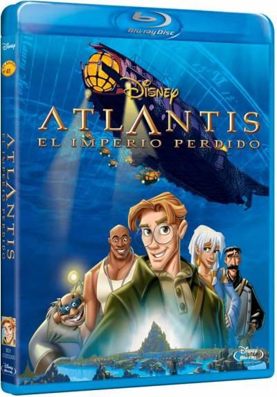 Atlantis: El imperio perdido (Blu-ray) (Atlantis: The Lost Empire)