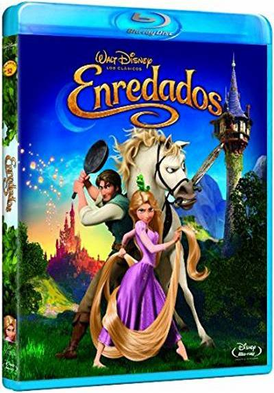 Enredados (Blu-Ray) (Tangled)