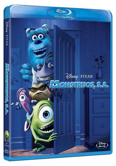 Monstruos, S.A. (Blu-ray) (Monsters, Inc.)