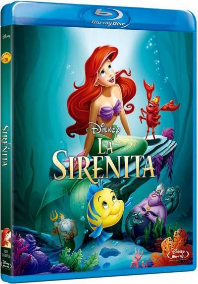 La sirenita (Blu-ray) (The Little Mermaid)