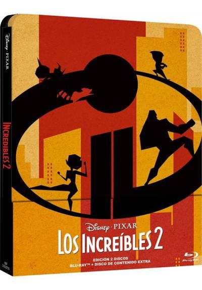 Los Increibles 2 (Steelbook) (Blu-ray) (The Incredibles 2)
