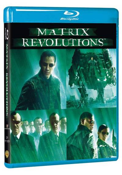 copy of Matrix Revolutions (Blu-Ray) (Ed. Metálica)
