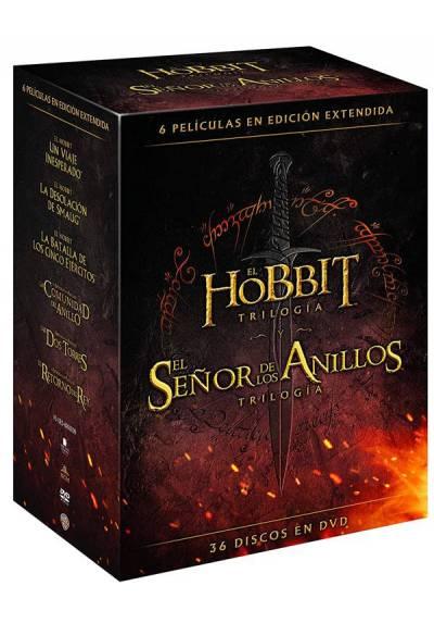 Pack El Hobbit - Trilogia / El Señor de los Anillos - Trilogia