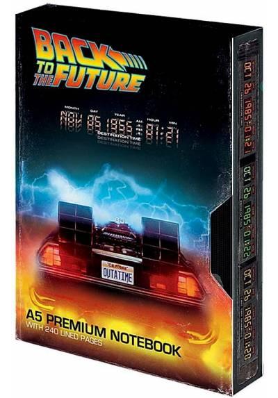 Cuaderno A5 Premium - Regresa al Futuro
