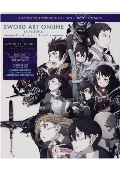 Sword Art Online La pelicula: Ordinal Scale (Blu-ray + DVD + Libro + Postales) (Gekijô-ban Sword Art Online: Ordinal Scale)