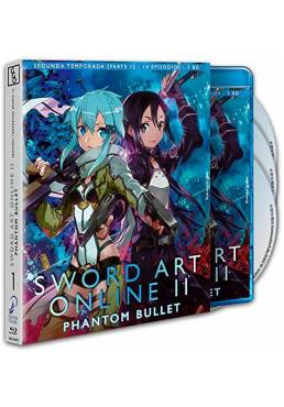 Sword Art Online II - Parte 1 (Phantom Bullet) (Blu-ray)