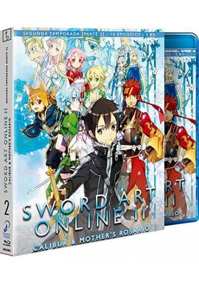 Sword Art Online II - Parte 2 (Calibur & Mothers Rosario) (Blu-ray)