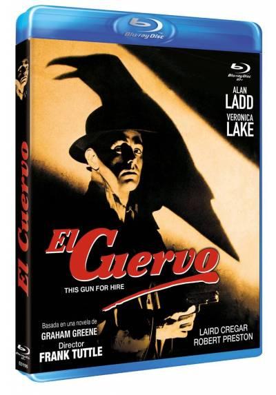 El cuervo (Contratado para matar) (Blu-ray) (Bd-R) (This Gun for Hire)