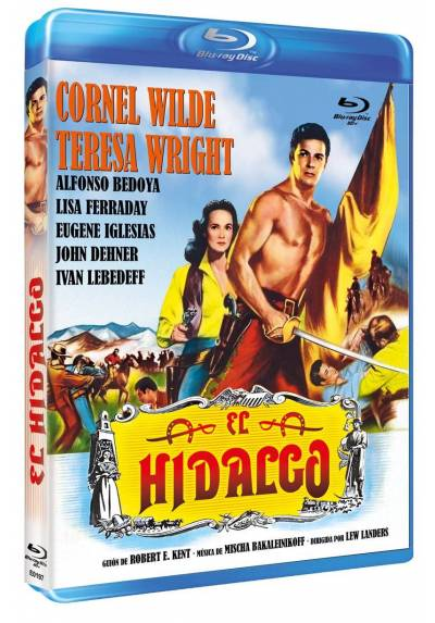 El Hidalgo (Blu-ray) (Bd-R) (California Conquest)