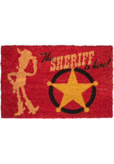 Felpudo Disney - Toy Story El Sheriff Esta Aqui (40 X 60 X 2)