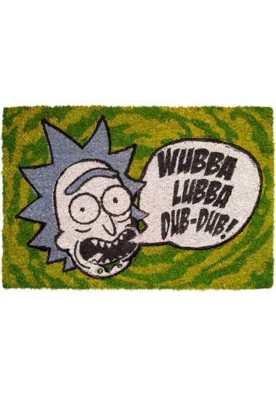 Felpudo Rick and Morty - Wubba Lubba (40 X 60 X 2)