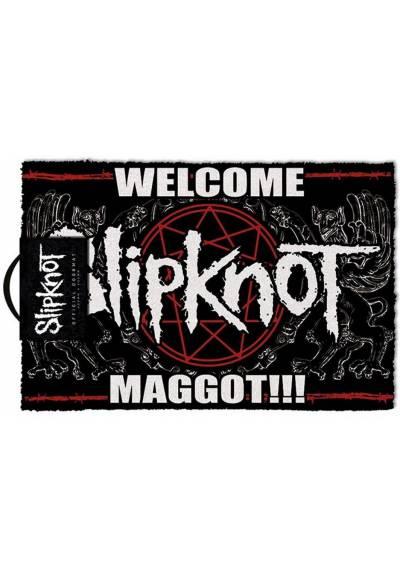 Felpudo Slipknot - Bienvenido Maggot (40 X 60 X 2)