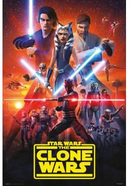 Poster Star Wars - El Clon Wars Temorada 7 (POSTER 61 x 91,5)