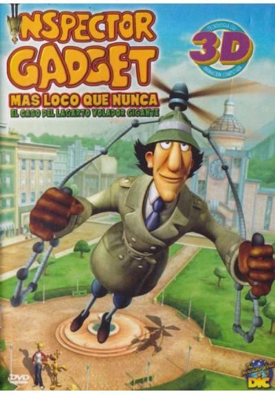 Inspector Gadget 3D - Más loco que nunca, El caso del lagarto volador gigante (Inspector Gadget's Biggest Caper Ever)
