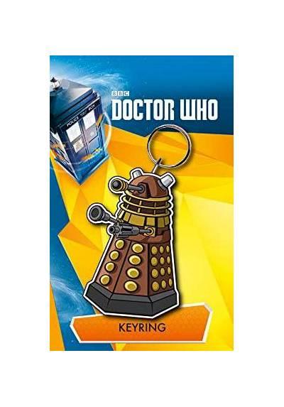 Llavero de Goma - Doctor Who (Dalek) (6 x 4.5 x 0.2)