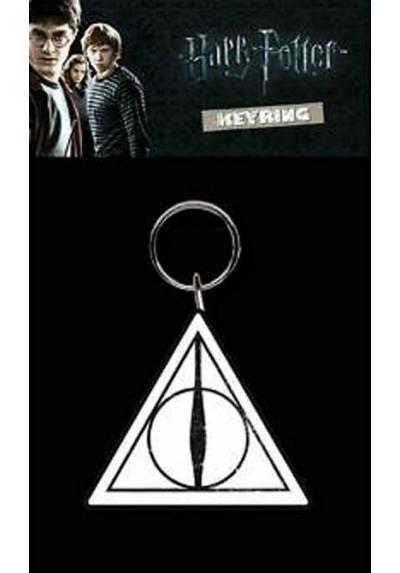 Llavero de Goma - Harry Potter (Las Reliquias de la muerte) (6 x 4.5 x 0.2)