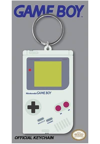 Llavero de Goma - Nintendo (Game Boy) (6 x 4.5 x 0.2)