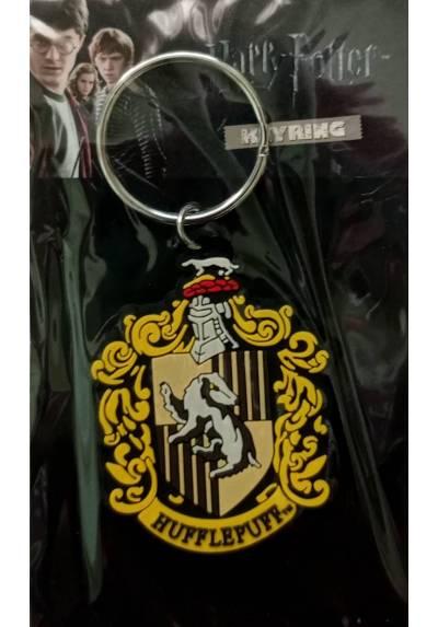 Llavero de Goma - Harry Potter (Hufflepuff) (6 x 4.5 x 0.2)